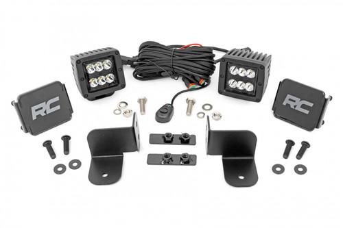 Polaris Rear Facing 2-Inch/3-Inch LED Kit (19-21 Ranger)