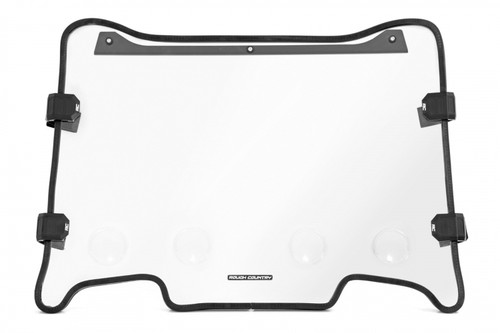 Polaris Scratch Resistant Vented Full Windshield (19-21 RZR Turbo S)