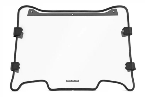 Polaris Scratch Resistant Full Windshield (19-21 RZR Turbo S)