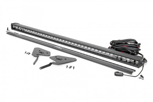Polaris Front-Facing 30-Inch LED Kit (19-21 RZR Turbo S) Single Row Straight