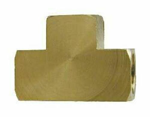 Brass Pipe Tee Union 1/2 Npt