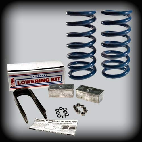 1982-2004 S-10 & Sonoma 1 Fr.-2 Rr. Lowering Kit