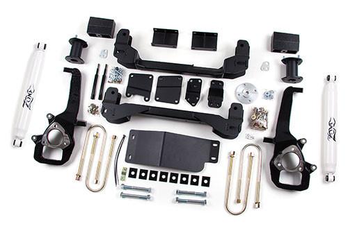 "2006-08 Dodge Ram 1500 4WD 6"" Lift Kit With Nitro Shocks"