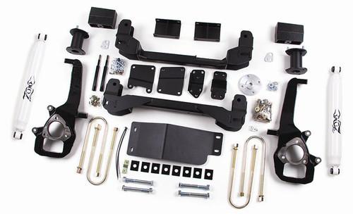"2006-08 Dodge Ram 1500 4WD 4"" Lift Kit With Nitro Shocks"