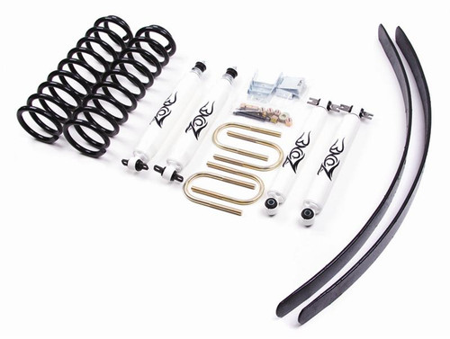 "84-01 Jeep Cherokee XJ-Chrysler 8.25 Rr Axle 3"" Coil Lift Kit w/Nitro"
