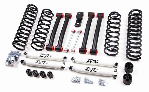 "1993-1998 Jeep Grand Cherokee ZJ 4"" Coil Lift Kit With Nitro Shocks"