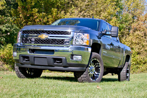 2011 Chevy 2500HD 4WD 2 Leveling keys