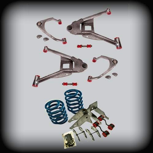 """07-09 Avalanche 3""""F Arms - 4""""R Coils"""