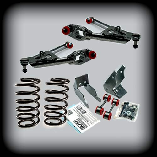 """01-06 Avalanche 3"""" Front C Arms/3""""R Coils"""
