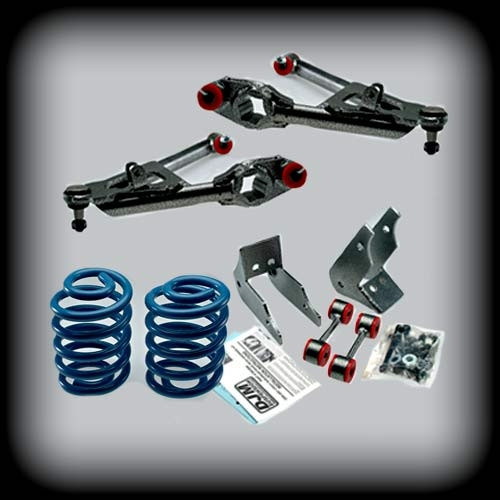 """01-06 Avalanche 3"""" Front C Arms/5""""R Coils"""