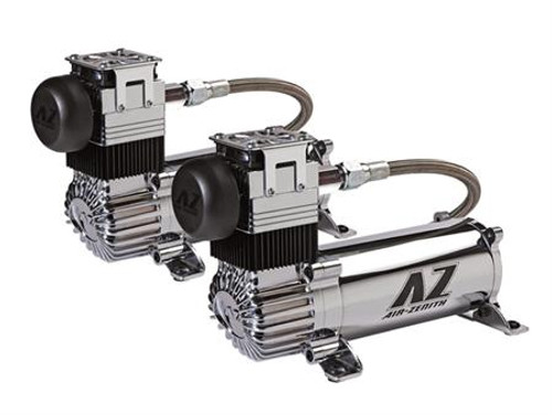 Dual-OB2 Pack Chrome Compressors