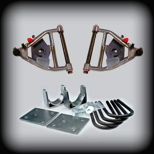 "68-72 C-10 3"" Front Control Arms 5"" Rear Lowering Kit DRUM BRAKES"