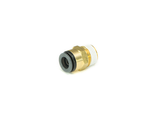 "Straight- Male 1/4"" NPT x 1/4"" Tube SMC Brass"