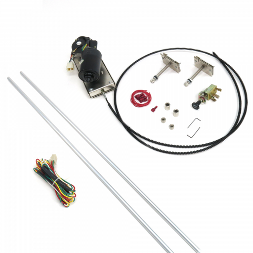 Universal Heavy Duty Power Windshield Wiper Kit