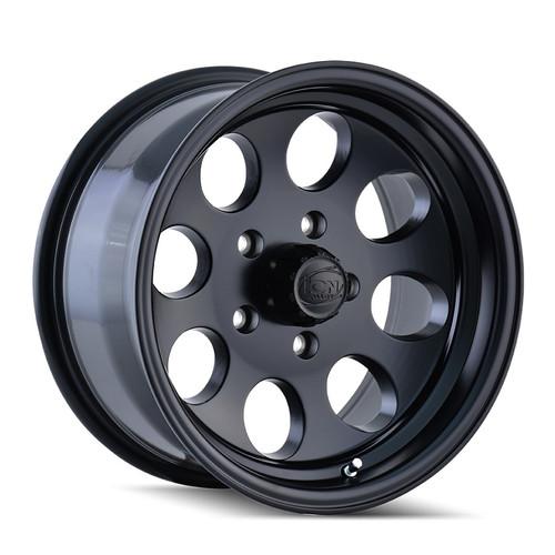 ION 171 Matte Black 16X8 8-165.1 -5mm 130.8mm