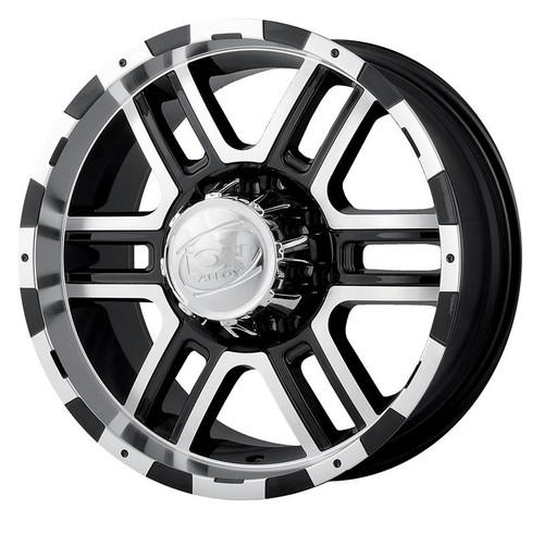 Ion 179 Black/Machined 18X9 5 X 150