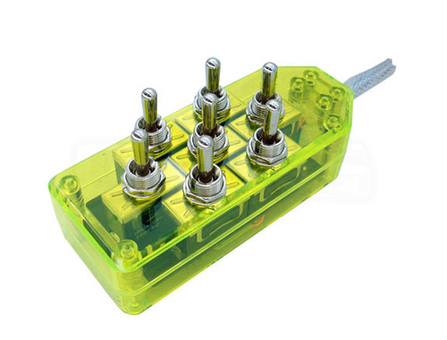 AVS ARC-7 Switch Toggle Series Green