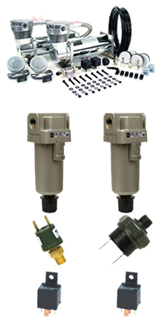 480c Dual Pack And 2 Water Separators