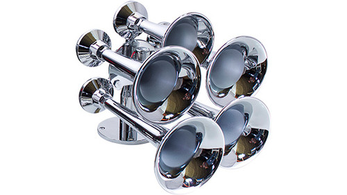 Admiral Chrome Marine Train Horn