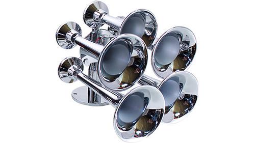Admiral Chrome Marine Train Horn