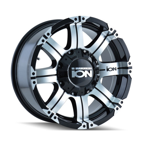ION 187 Black/Machined 17X9 5-114.3/5-127 -12mm 87mm