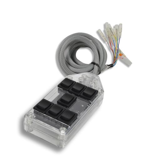 AVS ARC-7 Switch Rocker Series Clear