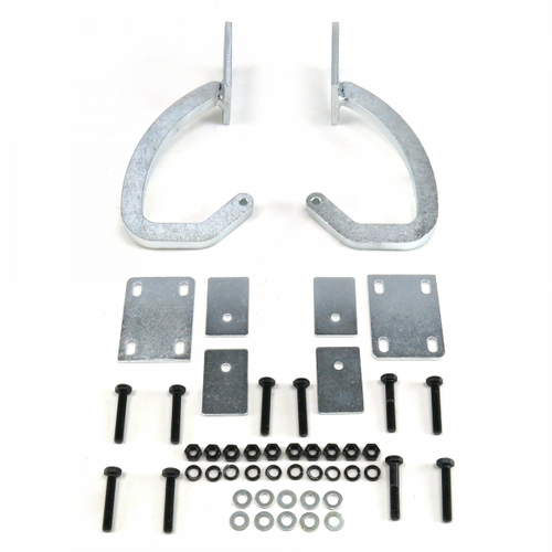 Autoloc Universal Chrome Trunk Hinge Kit