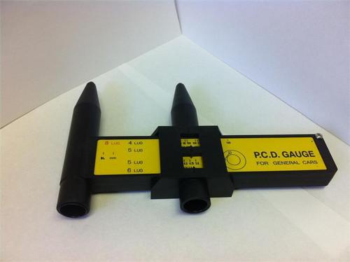P.C.D. Gauge Bolt Pattern Measuring Tool