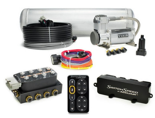 Dual Compressor SwitchSpeed Air Management Package