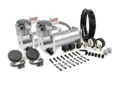 Viair 12v 450C Air Compressor Chrome Dual Pack - 150psi