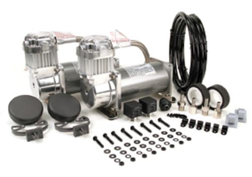Viair 12v 380C Air Compressor Pewter Dual Pack - 200psi
