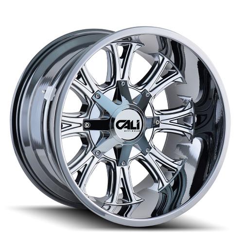Cali Off-Road Americana PVD2 Chrome 20X9 5-127/5-139.7 0mm 87mm