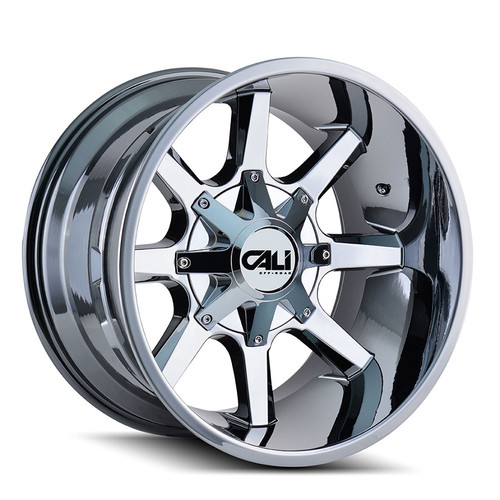 Cali Off-Road Busted PVD2 Chrome 20X9 5-127/5-139.7 18mm 87mm