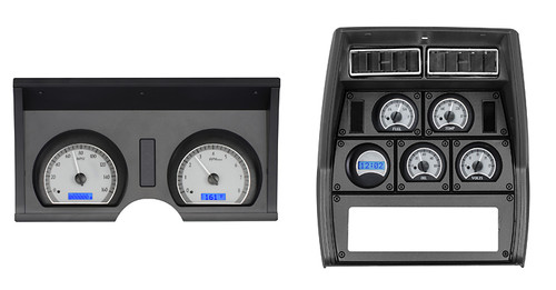 78-82 Chevy Corvette VHX Instruments w/ Digital or Analog Clock