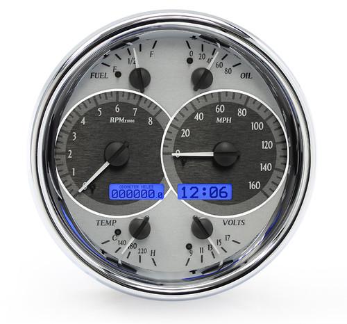 Universal Single 7 Inch Round Analog VHX Instruments