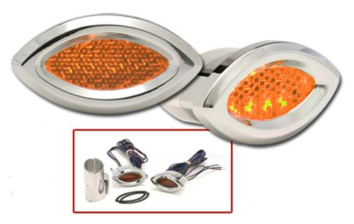 Cateye LED Marker Lights in Amber