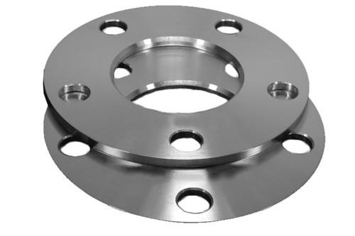 6x127 Flat Aluminum Wheel Spacers