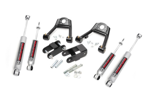 1.5-2in Nissan Suspension Lift Kit (86.5-97 D21 Hardbody Pickup 4WD)