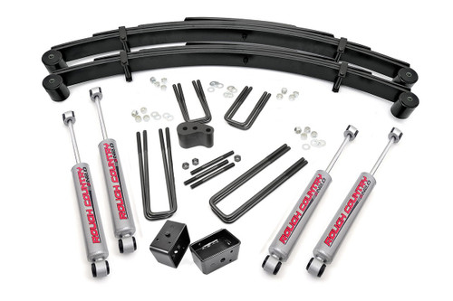 4in Ford Suspension Lift Kit (77.5-79 F250 Lowboy 4WD)