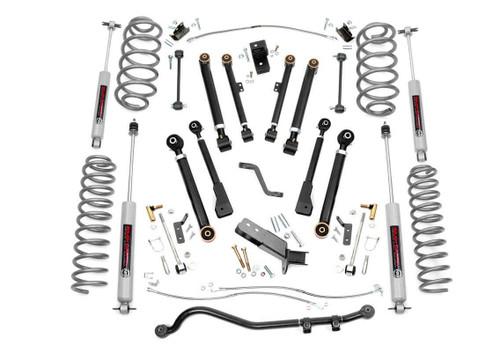 6in Jeep X-series Suspension Lift Kit (97-06 Wrangler TJ / 04-06 Wrangler Unlimited LJ)