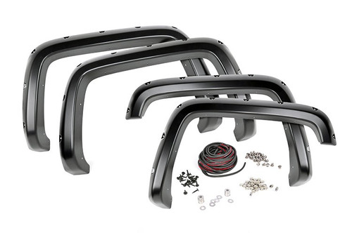 92-99 Chevy/GMC Suburban Pocket Fender Flares w/Rivets
