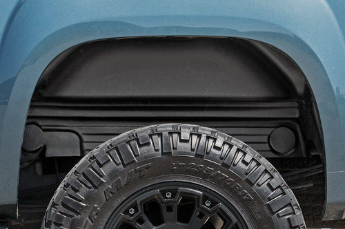 GMC Rear Wheel Well Liners (07-13 1500/ 07-10 HD PU) close up view