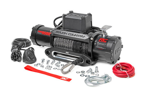 9500LB Pro Series Electric Winch / Synthetic Rope