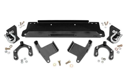 07-18 Jeep JK Wrangler/ Unlimited Winch Mounting Plate w/D-Rings