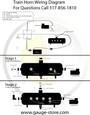 Train Horn Wiring instructions