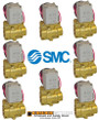 1/4 SMC pneumatic Valve 8 Pack for air suspension