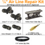 """1/4 """" airline repair kit is the perfect addition to keep in your vehicle in case of emergency."""