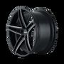Touren TR73 Gloss Black/Milled Spokes 20X8.5 5-120 20mm 74.10mm