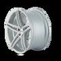 Touren TR73 Gloss Silver/Milled Spokes 18X8 5-114.3 35mm 72.62mm