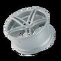 Touren TR73 Gloss Silver/Milled Spokes 20X10 5-120 20mm 74.10mm